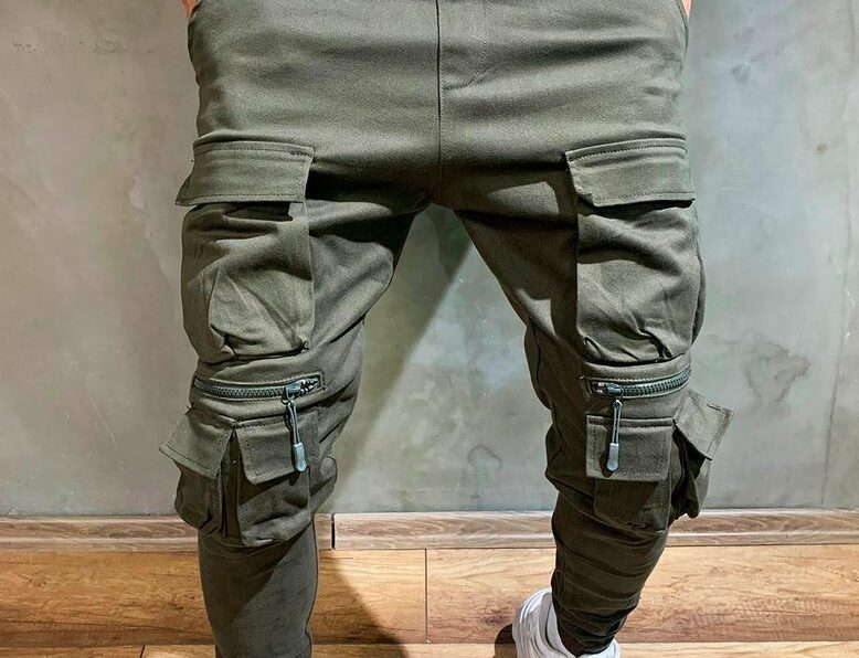 Sportowe spodnie bojówki męskie dla pana w każdym wieku